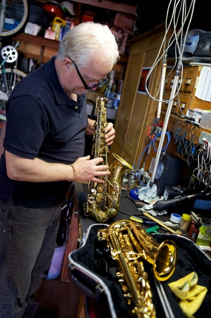 Alto Saxophone repair and overhaul